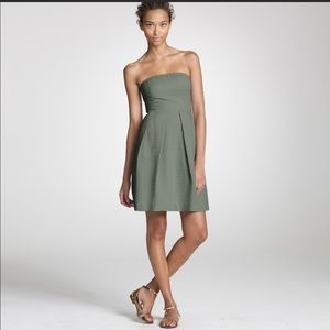 J. Crew Embossed Strapless Lorelei Dress Size 6
